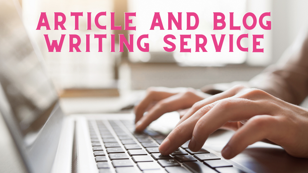 What is a writing service